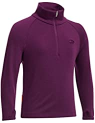 Icebreaker JNBF260 Tech Top Maillot pour fille Rose Rouge