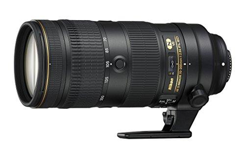 Nikon AF-S Nikkor 70-200 mm, 1:2.8E FL ED VR (inkl. HB-58 Gegenlichtblende mit CL-M2 Objektivbeutel) schwarz