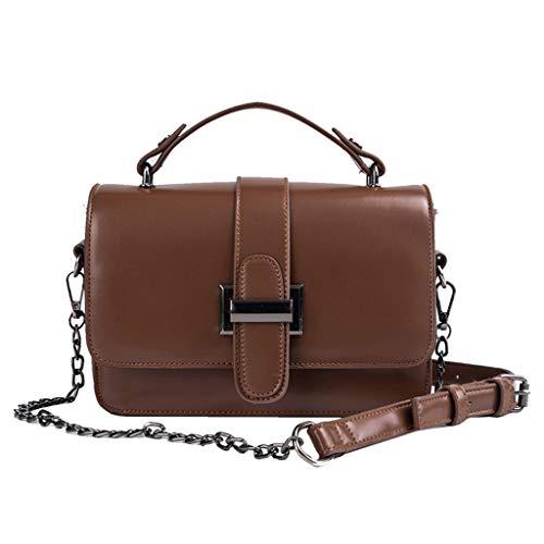 XZDCDJ Crossbody Tasche Damen UmhängeTaschen Daypacks Damenmode Wild Slant Bag Einzelner Schulterbeutel Geldbeutel Kuriertasche -