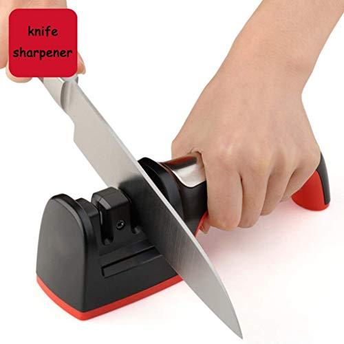 TBB Professioneller Messerschärfer, 2-Stufiges Beschichtetes Radsystem Messerschärfen mit...