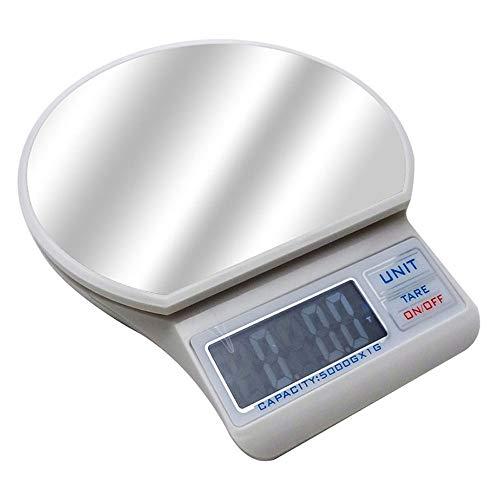 ZSLLO Elektronische Küchenwaage mit hoher Genauigkeit von 1-5 kg
