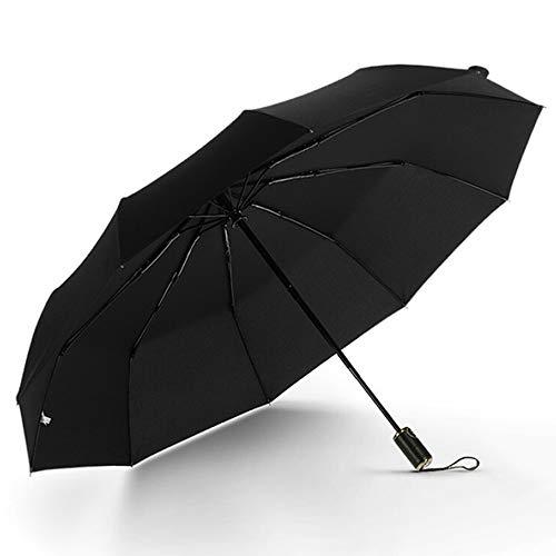 rm, leichte tragbare Mini-Kompaktschirme, Damenmode Regenschirm, schwarz, blau,Black ()