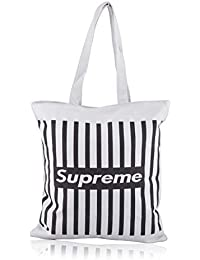Shoppertize Latest Cotton Fiber Canvas Women Tote Bags, Tote Bag For College Girls