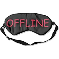 OFFLINE Letter Print Customization Silk Sleep Mask Eye Mask preisvergleich bei billige-tabletten.eu