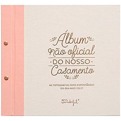 Mr.Wonderful - Álbum no oficial de nuestra boda con contenido en Portugués