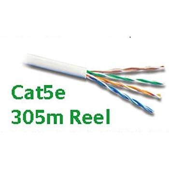 Superb Cat5E Rj45 Ethernet Lan Network Cable Utp Reel 305M Amazon Co Uk Wiring Cloud Strefoxcilixyz