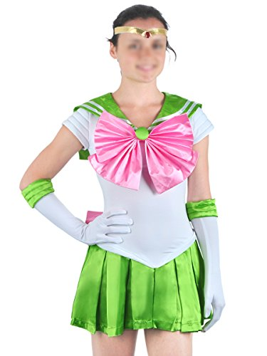 CoolChange Sailor Moon Cosplay Kostüm von Sailor Jupiter, Größe: (Sailor Kostüm Jupiter)