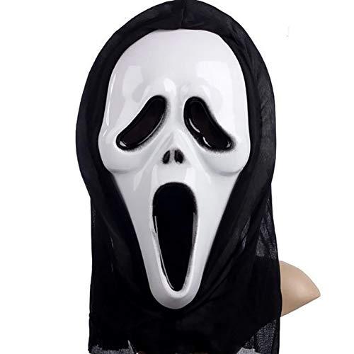 Kinder Kostüm Geist Furchtsame Gesicht - WSJMJTM Horror Party Masken Screaming Masken Halloween Grimasse Masken Festival Liefert Großhandel Für Kinder Erwachsene Requisiten
