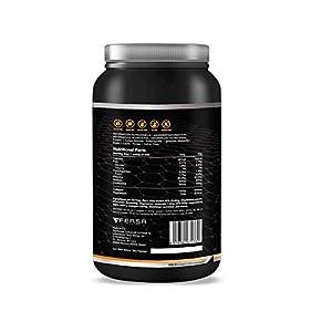 WHEY PROTEIN 100% Pura con Colágeno + Magnesio - Tonifica y Aumenta la Masa Muscular - Protege Músculos y Ayuda a la Recuperación de los Tejidos Fibrosos - 1.000g de Proteína Pura Sabor Chocolate
