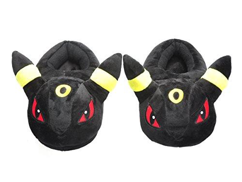 Pokemon kuschelige Hausschuhe von (Evoli Kostüme)
