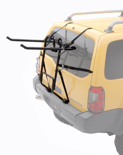 Hollywood Racks F4 Heavy Duty Four Bike Car Rack, Black