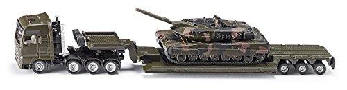 Tieflader mit Panzer