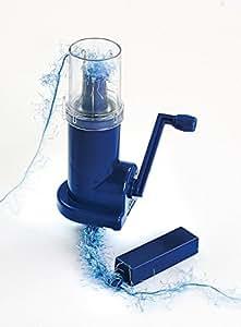 Prym 15118 Tricotin mécanique, 4 Crochets, 14 cm, Plastique, Bleu, 14 x 10 x 0,02 cm