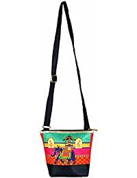 The Great Indian Mela Elephant Messenger Sling Bag