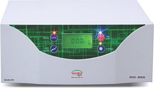 850VA Solarix Solar Inverter with 40Amps Charge controller