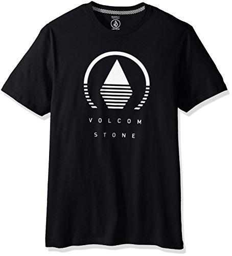 volcom-camiseta-hombre-negro-negro-m-us-talla