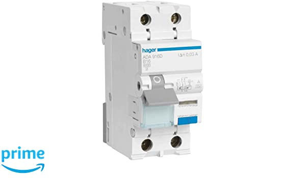 C 16 Typ A ABB DS201A-C16//0,03 FI//LS-Schalter 6kA 1P+N 30mA