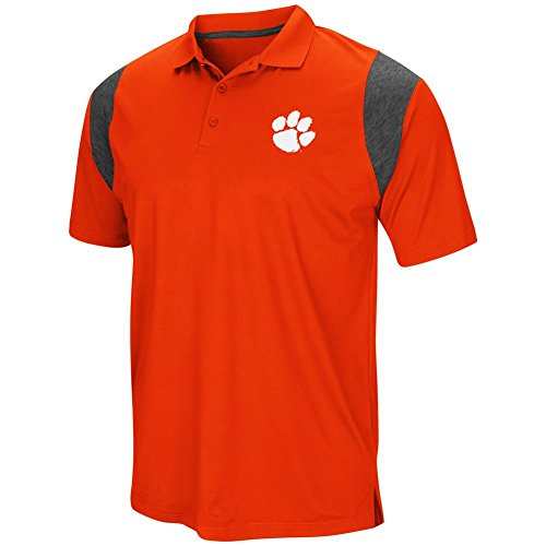 Clemson University Herren Poloshirt Tigers Short Sleeve, Herren, Team Color, X-Large