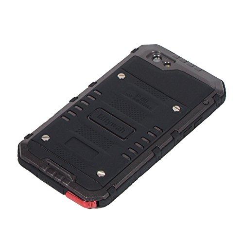 iPhone 6 / iPhone 6s Custodia Cover impermeabile Waterproof Case, Moonmini® Ultra Sottile Built-in Touch Screen Impermeabile Custodia Antiurto per Apple iPhone 6 / Apple iPhone 6s 4.7 in
