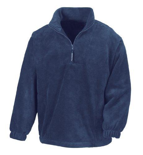 Result Fleecepullover Active mit Seitentaschen XXL,Black Fleece-pullover