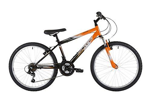 41UhWXnKi9L - Flite Boy Ravine Bike, 24 inch Wheel - Black/Orange