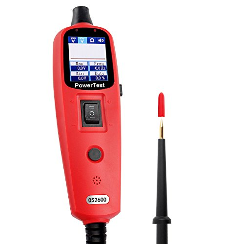 CIRCUIT TESTER OS2600 POWER PROBE 12V&24V DIAGNOSTIC ELECTRIC CIRCUIT TESTER WITH FLASHLIGHT READ AVOMETER