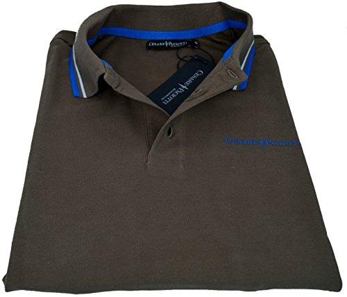 maglia-polo-maniche-corte-uomo-cesare-paciotti-polo-men-short-sleeves-cp13ps-1-marrone-m