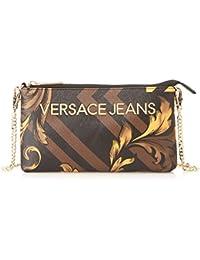 dadbd54d59 Versace Jeans Portafoglidonna, Portafogli;donna Multicolore (Nero+Oro)  2x12x22 cm (