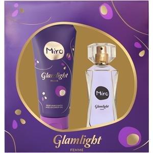 Miro Glamlight Set (Eau de Parfum, Duschgel), 150 milliliters