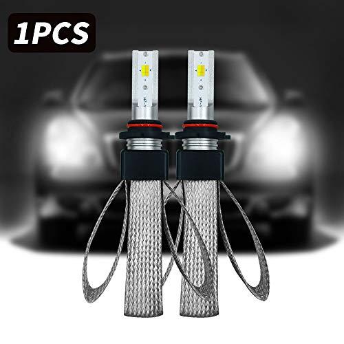 Green-L Kit H1 LED phares Ampoules 9800LM 6000K lumi/ère blanche Ampoules de remplacement Remplacer pour halog/ènes ou HID Ampoules Pack de 2