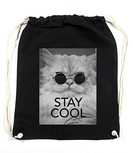 Stay Cool Cat Sac De Gym Noir Certified Freak