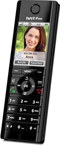 AVM Fritz!fon C5 Single Handset ( DECT,Hands Free Functionality, IP Phone, Low Radiation )