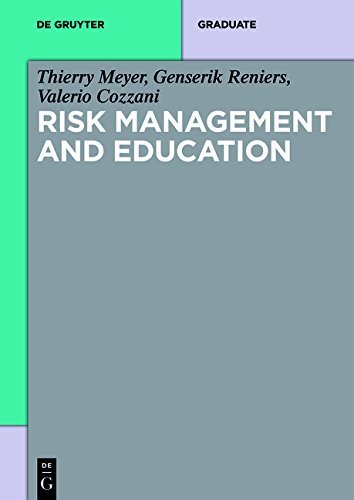Risk Management and Education (De Gruyter Textbook) (English Edition)