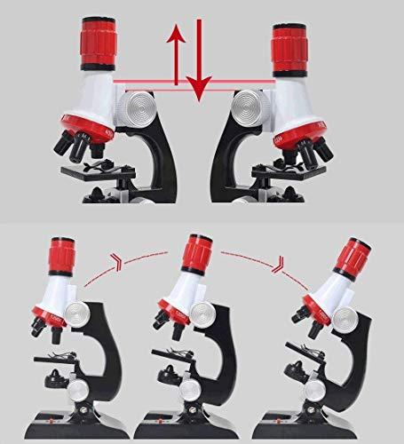 Microscopio Infantil Niños Portatil Jzhen Para Juguete 7bYyf6g