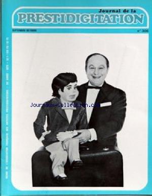 JOURNAL DE LA PRESTIDIGITATION [No 306] du 01/09/1975 -