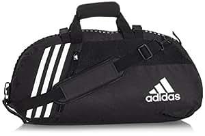 adidas sporttasche 43 0 liters schwarz wei koffer rucks cke taschen. Black Bedroom Furniture Sets. Home Design Ideas