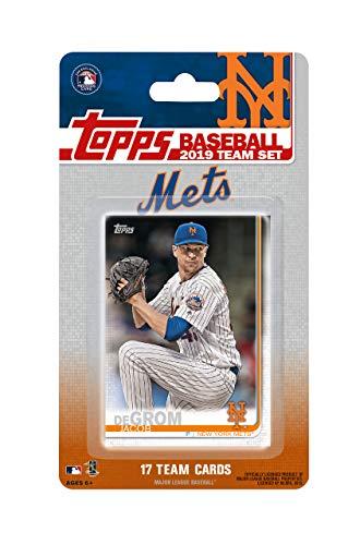 New York Mets 2019 Topps Factory Sealed Special Edition 17 Karten Team Set mit Jacob deGrom und Brandon Nimmo Plus - Baseball-karten Topps