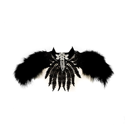 Dom Und Sub Kostüm - SiaLinda Cape Tara Halsschmuck, Brustschmuck mit