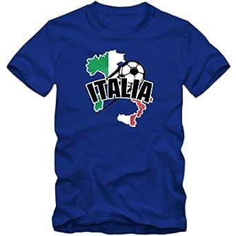 Italien EM 2016 #1 T-Shirt   Fußball   Herren   Gli Azzurri   Trikot   Nationalmannschaft