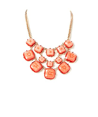 lux-accessories-coral-rose-gold-faceted-bib-necklace