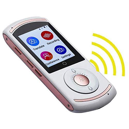 Ceepko - Dispositivo traduttore vocale, supporto full Smart WiFi, multi lingua, traduttore bidirezionale, touch screen 4G da 2,0 pollici, 45 lingue, 57 accento, per imparare viaggi