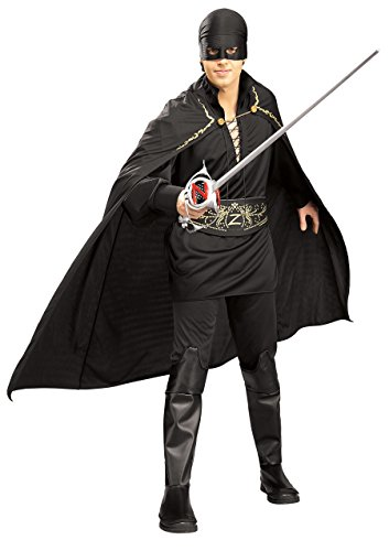 Zorro Dress Kostüm Fancy - Rubie's Adult Zorro Fancy Dress Standard Costume
