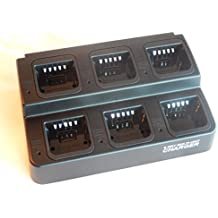 vhbw 220V cargador cable de carga para batería de radio, walkie-talkie Motorola A10, A12, CP110, EP150, XTNi, XTNiD