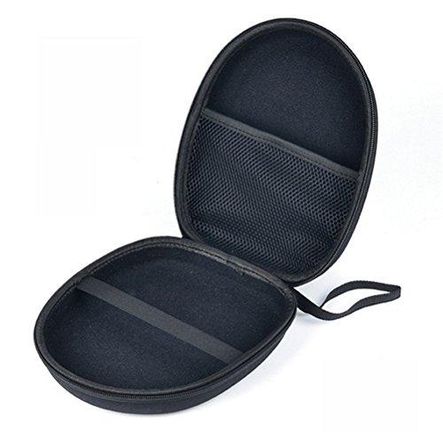 Galleria fotografica Zhhaijq Scatola auricolare per scatola di immagazzinaggio MDR-XB450 950AP headset earphone bag large storage bag EVA bag for MP3 Earbud and USB Cable