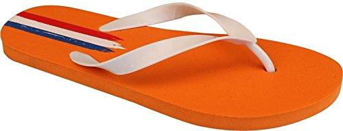 Schreuders Sport Waimea PVC Welt Triomph Flip Flops Orange