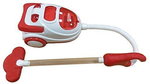 Rot & Weiß Mein Erster Staubsauger Mädchen Rollenspiel Hoover Reinigung Kinder Rollenspiel Spielzeug