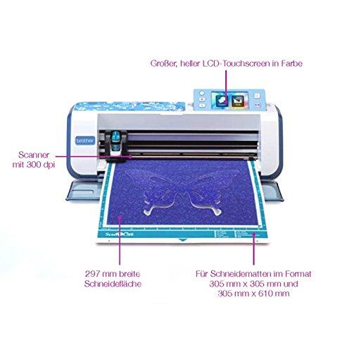 Brother CM840 Scan-N-Cut Hobbyplotter Schneideplotter mit Scanner - 2