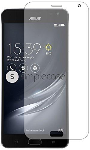 Simplecase Premium Bildschirmschutz Größe: Asus ZenFone AR aus 9H Panzerglas/ Echtglas/ Verb&glas - Transparent