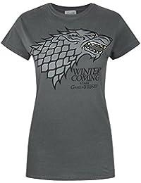 Game Of Thrones Stark Winter Is Coming Damen T-Shirt