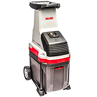 AL-KO Häcksler Easy Crush LH 2800, 2800 W Motorleistung, max. 40 mm Aststärke, 48 Liter Fangbox, leiser Walzenhäcksler, großer Einfülltrichter, ergonomischer Griff und stabile Räder für bequemen Transport